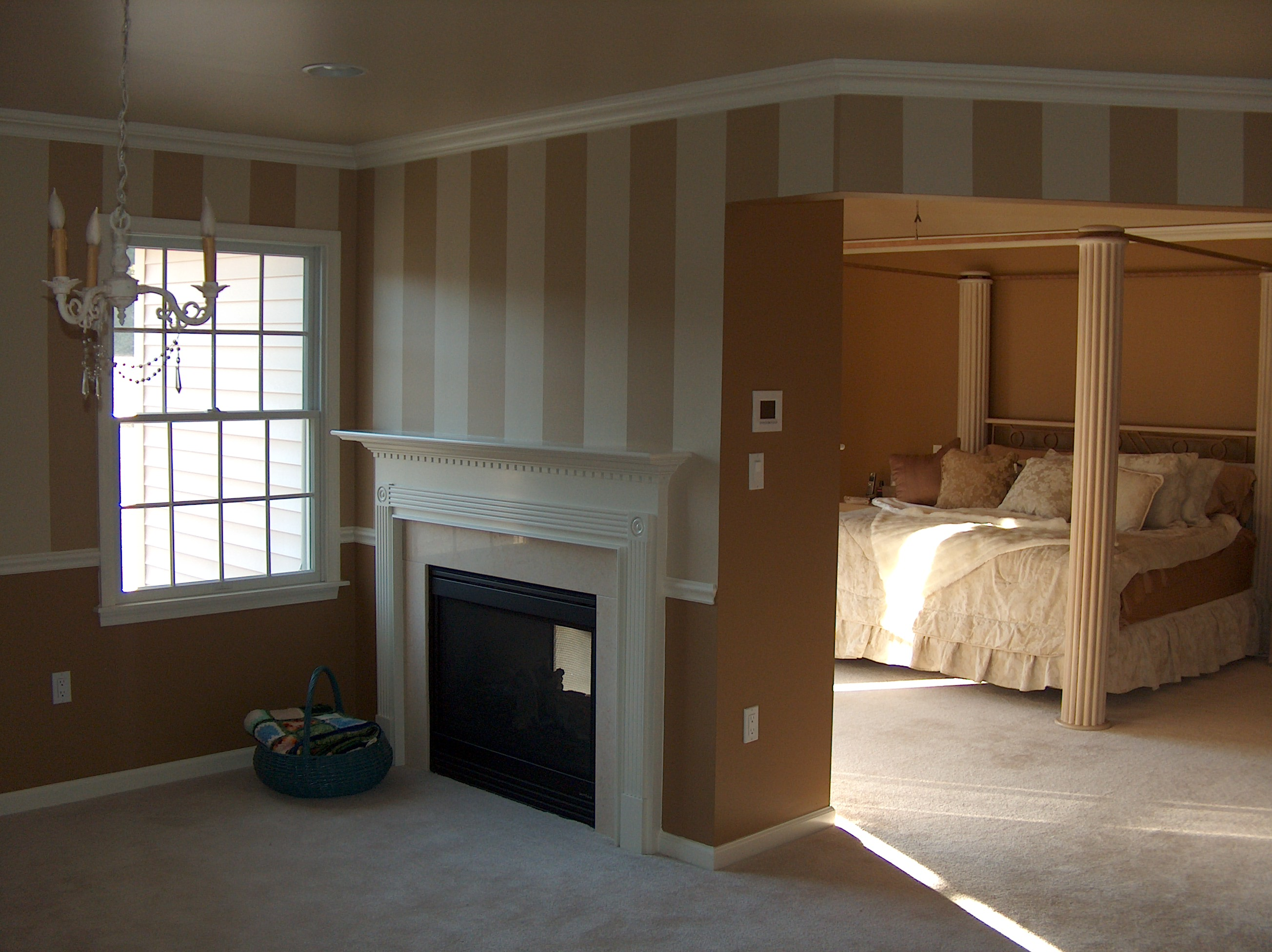 Custom Bedroom Paint